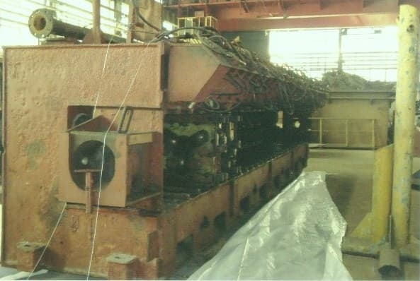 Stretch-reducing mill, mod. SRW 300 IV 28 E, Mannesmann Meer AG, Germany