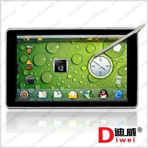 inch android 2.2 tablet pc