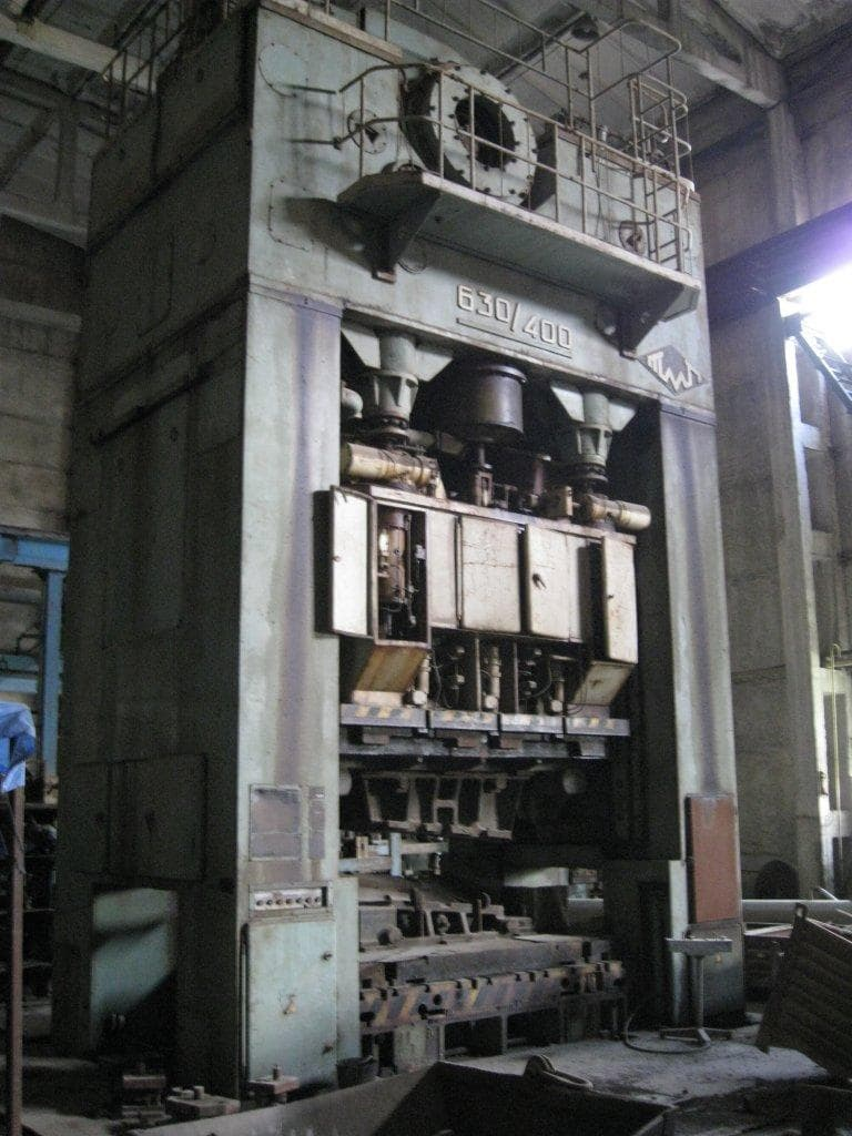 VORONEZH Mechanical four-crank double-action press, Capacity 630/400
