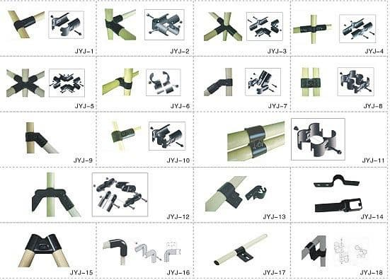 Metal Pipe Joints Set Jyj Series From Shenzhen