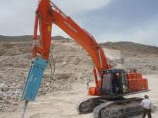 Poqutec Hydraulic Breaker For Hitachi Excavator Tradekorea