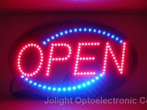Led Open Sign Tradekorea
