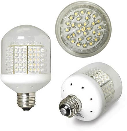 Incandescent, Compact Fluorescent, and LED Light Bulb ...