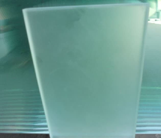 Clear Acid Etched Glass From All Glass Suqian Limited