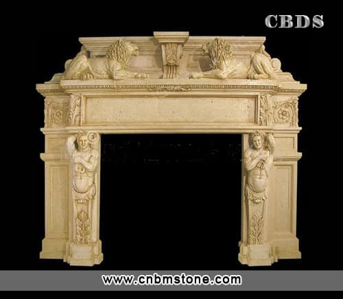 fireplaces models made of granite