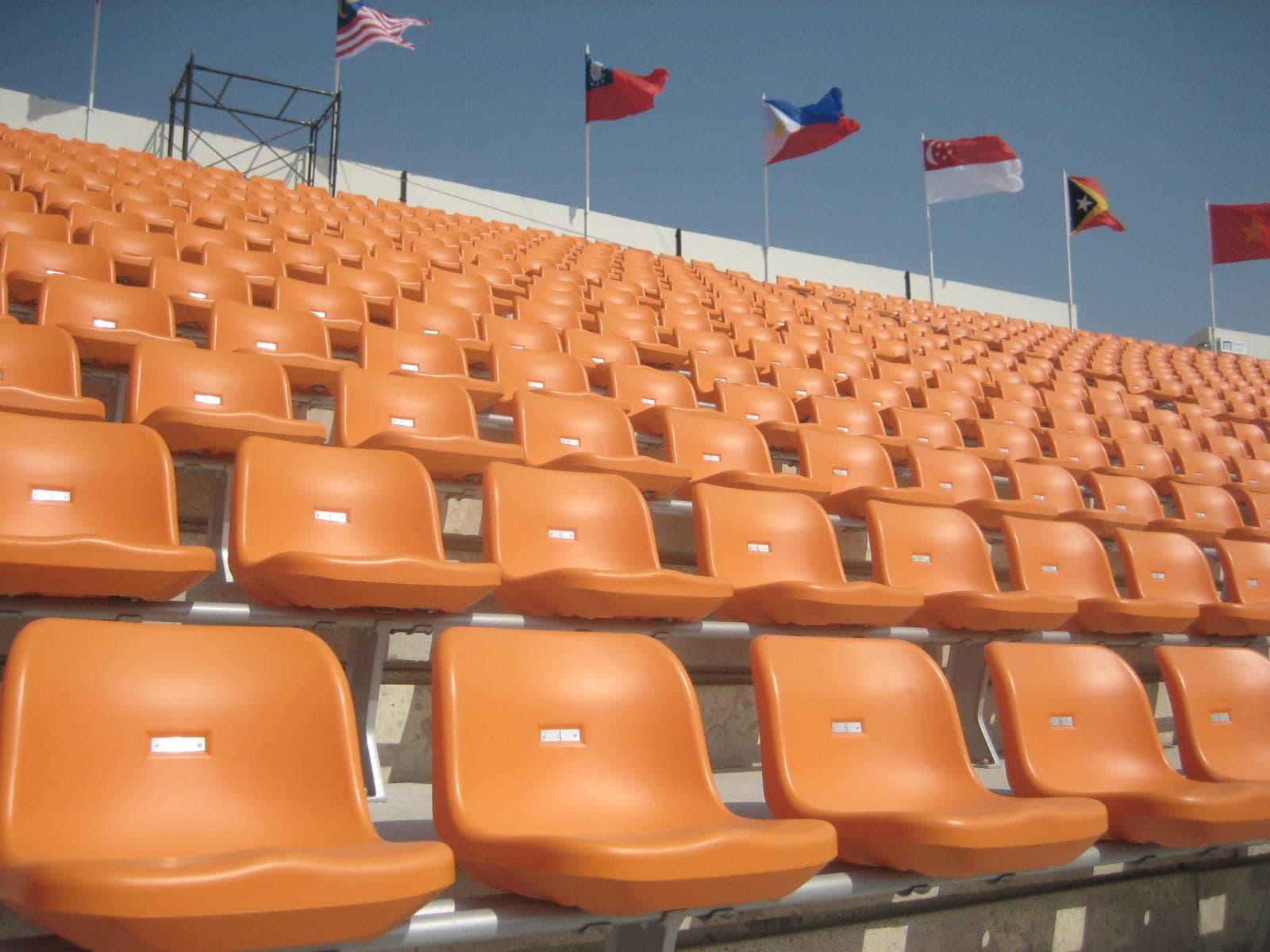 Stadium Seats Product : Anti uv outdoor bucket seating stadium