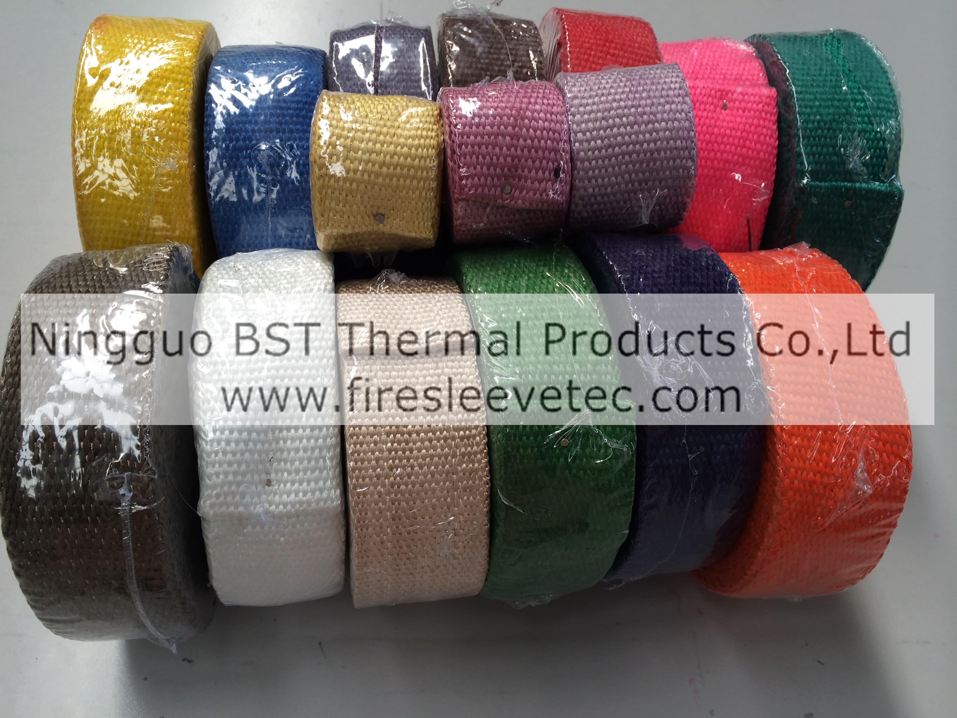 black colored fiberglass exhaust wrap tradekorea