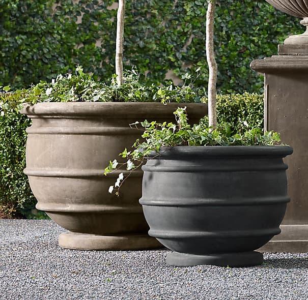 Brand-new Stone Planters from DUQAA HANDICRAFTS B2B marketplace portal  IF76