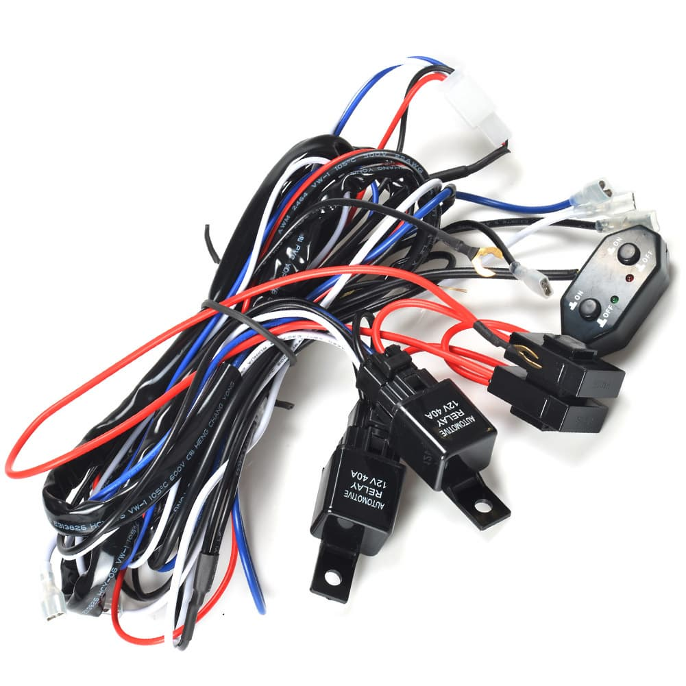 Wiring Harness Support Library How To Led Work Light Wire Diagram Three 2 Legs And Switch 300w
