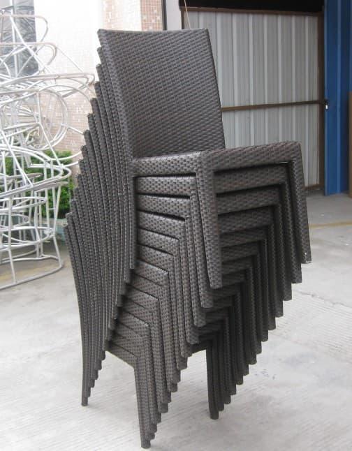 Outdoor Furniture Rattan Wicker